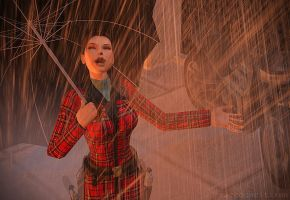 Singing in the Rain by raccooncitizen