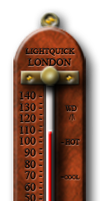 Steampunk Thermometer Icon by yereverluvinuncleber