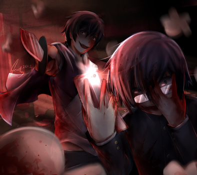 Corpse Party : Show me your Inner Beauty by Katkat-Tan
