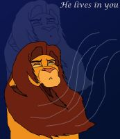The Lion King by Kijivu