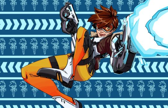 Overwatch - Tracer by PumaDriftCat