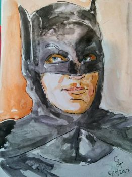 REST IN PEACE ADAM WEST by chrislt83