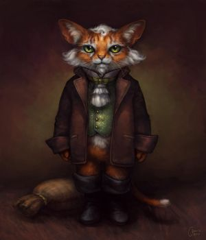 Puss in Boots by Sentinel13