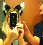 New Two Toned Fox Ears-     Finally! by SqueekyMoonkin