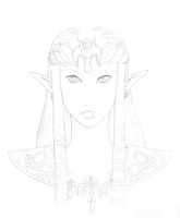 Princess Zelda by Skuldier