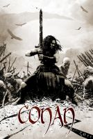Conan teaser poster design by timbradstreet