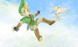 Skyward sword freefall by HylianGuardians