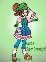 A Super Birthday Princess!!! by CooperGal24