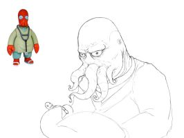 Dr. Zoidberg IRL WIP by project-aye