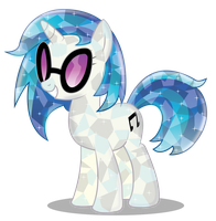 DJ Pon3 Crystal by InfiniteWarlock
