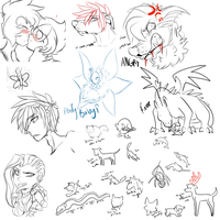 :Sketch Dump:7: by Vinabe