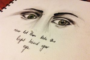 The Light Behind Your Eyes by onlyhopeformeismcr