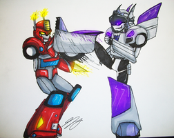Let's Tango Autobot by TaintedTamer