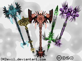 Mythical Weapons by DKDevil