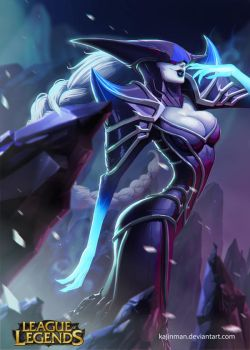 League of Legends: Lissandra the sexy ice witch by kajinman