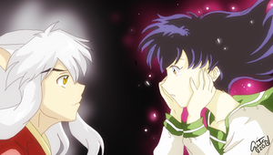 InuYasha - Together With You colored version by guto-strife-1