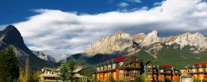 Canmore Skyline by DTherien