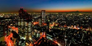 View from the Tokyo Metropolitan Building by imladris517