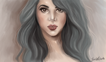 Shakira Speed Paint by LovelyArtemis