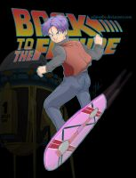 Future Trunks - Back to the Future by PearFlower