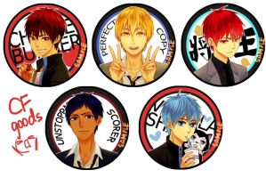 Kurobas buttons @CF2013 by TouMing
