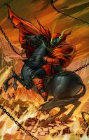 Spawn on a Horse by biz20