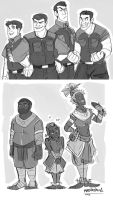 POM- Human Versions by MadJesters1