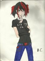 awesome emo girl by Soras-soul