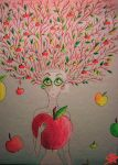Apple Woman by Vedmepups