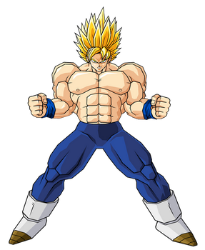 Goku Ultra Super Saiyan 2 by GokuGarlic