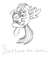 Don't leave me alone... by Sky-Sketch