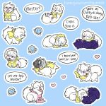 puppy clear stickers by hasuyawn