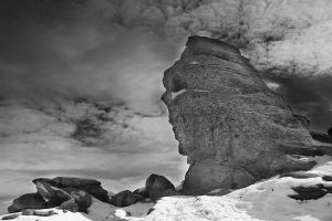 The Sphinx BW by seraphRo