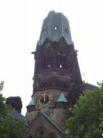 The bombed out church - Berlin by MethostheAnubis