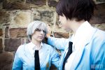 Touya and Yukito Cosplay from Card Captor Sakura by LadyOfBarians