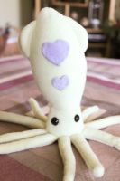 Love Squid Plush by BeeZee-Art