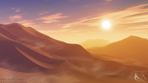 Vue Desert v2 by DRSpaceman
