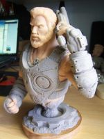 Dom gears of war 3 almost done.. by sanyaca