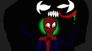 Shadows aren't your friend.... by TheUltimateSpiderFan