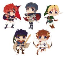 SSB KEY CHAIN SET by cuddle-meee