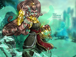 Illaoi - The Kraken Priestess by StretchNSin