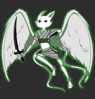 [Homestuck] Prototype Peregrine Mendicant by Spaced-Out-Xandy