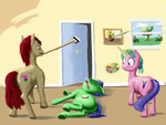 ATG-A-223 - Mind out!  That's not...a real door by Lemon-Bitter-Twist