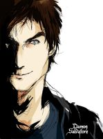 Damon Salvatore by 4oI