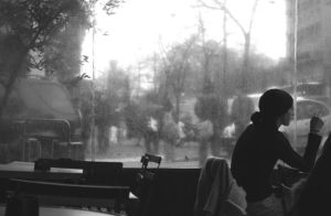 Woman and cigarette by Naew