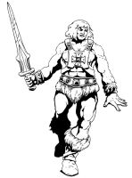 HE- MAN by pictishscout