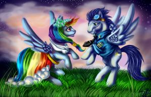 Best Couple Ever! by EverchangingArt