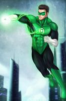 Green Lantern - Hal Jordan by MeTaa