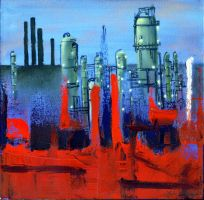 Sublime Oil Refinery 0 by WormDog1