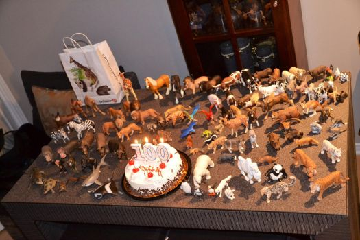 My animal figures collection (updated) by emperorshaokahn123